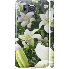 Чехол на Samsung Galaxy Alpha G850F Лилии белые