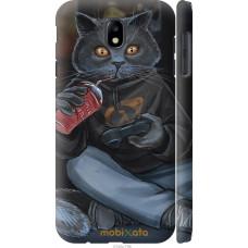 Чехол на Samsung Galaxy J7 J730 (2017) gamer cat