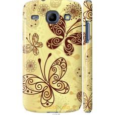 Чехол на Samsung Galaxy Core i8262 Рисованные бабочки