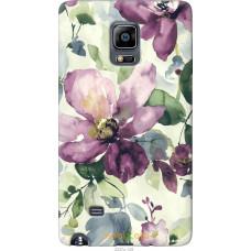 Чехол на Samsung Note Edge SM-N915 Акварель цветы
