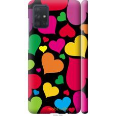 Чехол на Samsung Galaxy A71 2020 A715F Сердечка 4