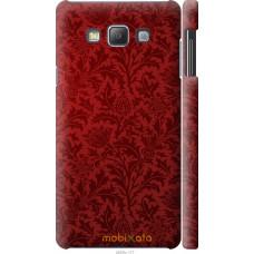 Чехол на Samsung Galaxy A7 A700H Чехол цвета бордо