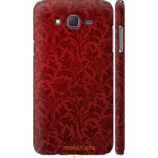 Чехол на Samsung Galaxy J7 J700H Чехол цвета бордо