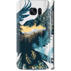 Чехол на Samsung Galaxy S7 Edge G935F Арт-орел на фоне приро