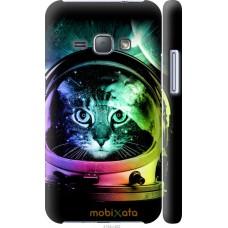 Чехол на Samsung Galaxy J1 (2016) Duos J120H Кот космонавт