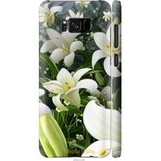 Чехол на Samsung Galaxy S8 Лилии белые