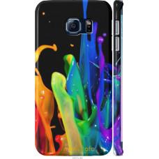 Чехол на Samsung Galaxy S6 Edge G925F брызги краски