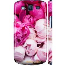 Чехол на Samsung Galaxy S3 Duos I9300i Розовые цветы