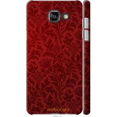 Чехол на Samsung Galaxy A7 (2016) A710F Чехол цвета бордо