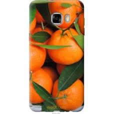 Чехол на Samsung Galaxy C7 C7000 Мандарины
