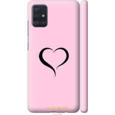 Чехол на Samsung Galaxy A51 2020 A515F Сердце 1