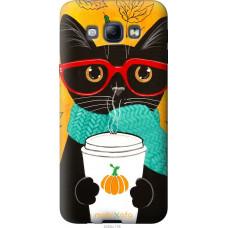 Чехол на Samsung Galaxy A8 A8000 Осенний кот