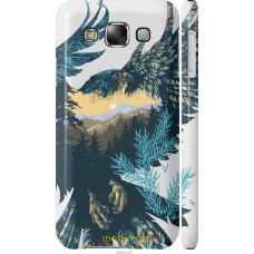 Чехол на Samsung Galaxy E5 E500H Арт-орел на фоне природы