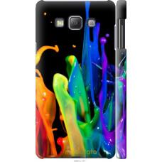 Чехол на Samsung Galaxy A7 A700H брызги краски