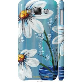 Чехол на Samsung Galaxy E5 E500H Красивые арт-ромашки