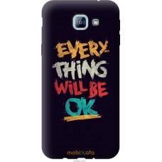 Чехол на Samsung Galaxy A8 (2016) A810 Everything will be Ok