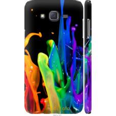 Чехол на Samsung Galaxy J7 J700H брызги краски