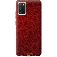 Чехол на Samsung Galaxy A02s A025F Чехол цвета бордо