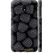 Чехол на Samsung Galaxy J4 2018 Черная ежевика