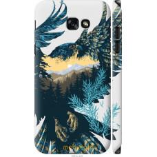Чехол на Samsung Galaxy A7 (2017) Арт-орел на фоне природы