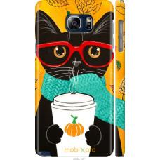 Чехол на Samsung Galaxy Note 5 N920C Осенний кот