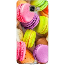 Чехол на Samsung Galaxy A9 Pro Вкусные макаруны