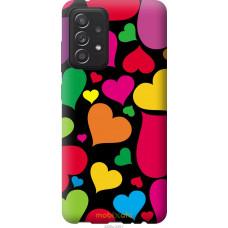 Чехол на Samsung Galaxy A52 Сердечка 4