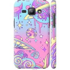 Чехол на Samsung Galaxy J1 J100H 'Розовый космос