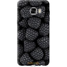 Чехол на Samsung Galaxy C7 C7000 Черная ежевика
