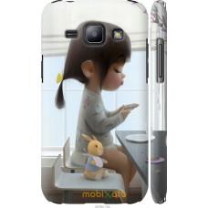 Чехол на Samsung Galaxy J1 J100H Милая девочка с зайчиком