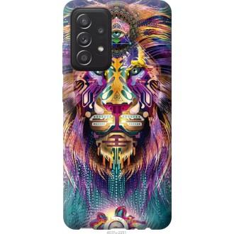 Чехол на Samsung Galaxy A52 Люминесцентный лев