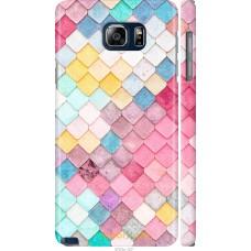Чехол на Samsung Galaxy Note 5 N920C Красочная черепица