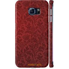 Чехол на Samsung Galaxy S6 Edge G925F Чехол цвета бордо