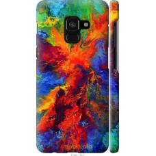Чехол на Samsung Galaxy A8 2018 A530F Акварель на холсте