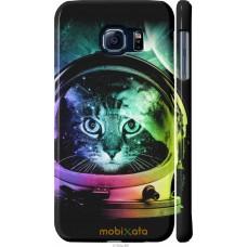 Чехол на Samsung Galaxy S6 G920 Кот космонавт