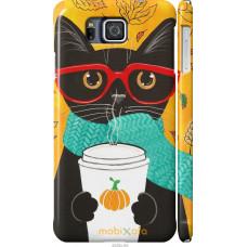 Чехол на Samsung Galaxy Alpha G850F Осенний кот