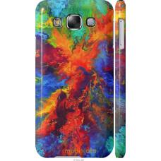Чехол на Samsung Galaxy E5 E500H Акварель на холсте