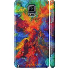 Чехол на Samsung Galaxy Note 4 N910H Акварель на холсте