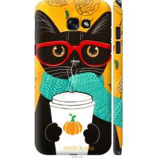 Чехол на Samsung Galaxy A7 (2017) Осенний кот