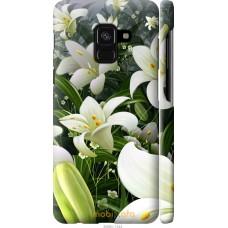 Чехол на Samsung Galaxy A8 2018 A530F Лилии белые