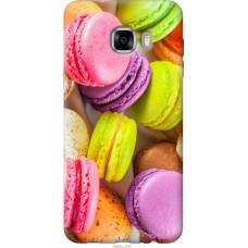Чехол на Samsung Galaxy C7 C7000 Вкусные макаруны