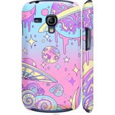 Чехол на Samsung Galaxy S3 mini 'Розовый космос
