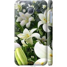 Чехол на Samsung Galaxy J3 Duos (2016) J320H Лилии белые