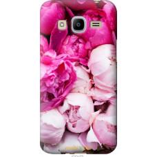 Чехол на Samsung Galaxy J2 (2016) J210 Розовые цветы