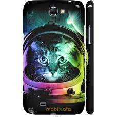 Чехол на Samsung Galaxy Note 2 N7100 Кот космонавт