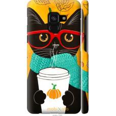 Чехол на Samsung Galaxy A8 2018 A530F Осенний кот