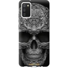 Чехол на Samsung Galaxy A02s A025F skull-ornament