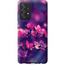 Чехол на Samsung Galaxy A52 Пурпурные цветы