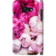 Чехол на Samsung Galaxy A3 (2017) Розовые цветы