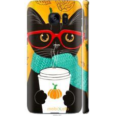 Чехол на Samsung Galaxy S7 Edge G935F Осенний кот